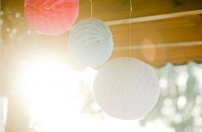 Decoración para boda. Foto de Nadia Meli.