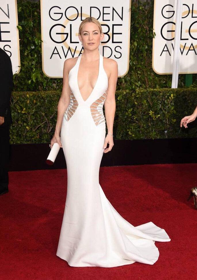 Las mejor vestidas de los Golden Globe Awards 2015 - Versace