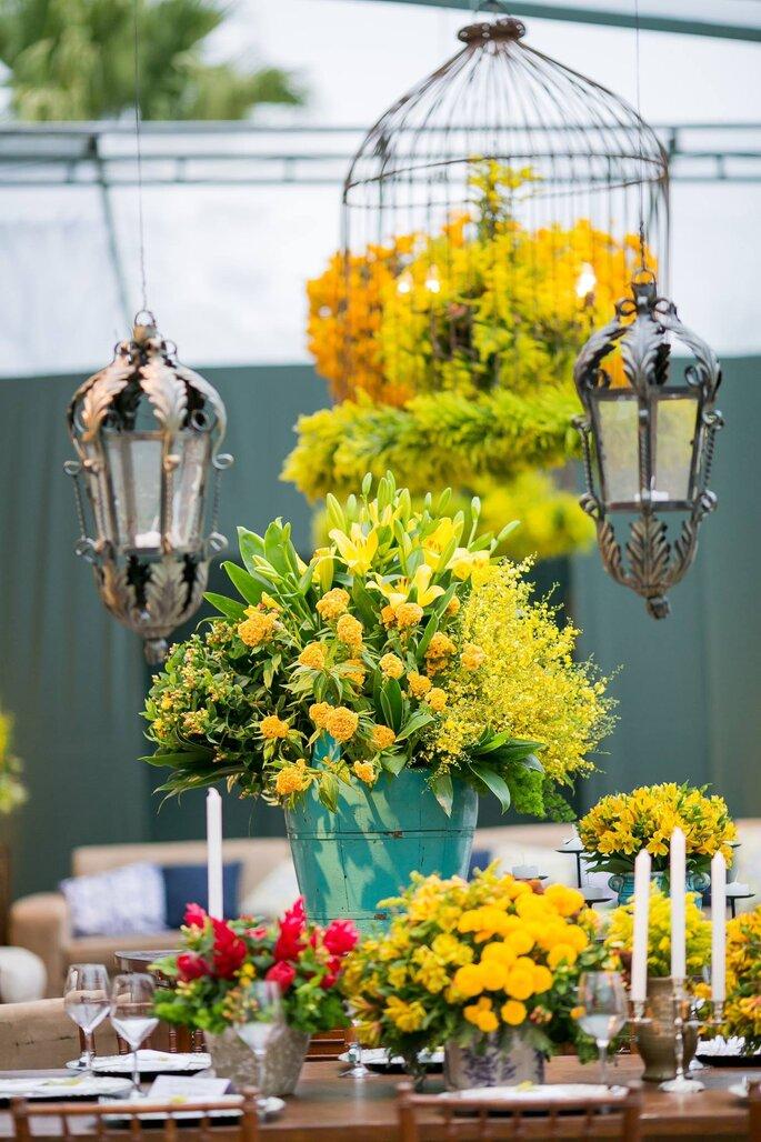 Flores e Decoração: Vera Guimarães | Foto: Marina Fava
