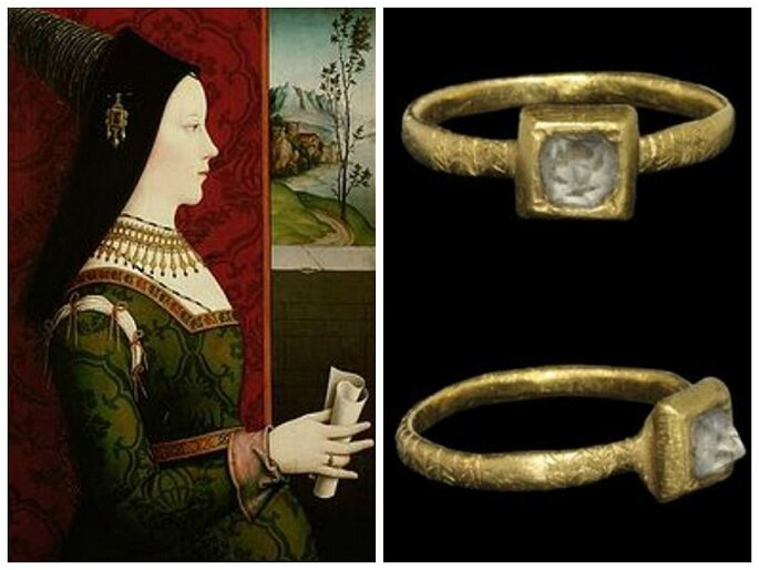 Engagement Rings And Their Sparkling History