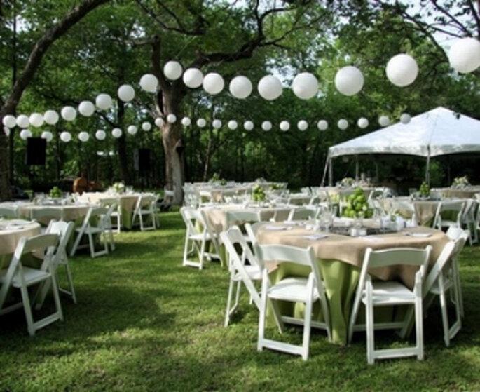 quieres una boda sencilla? mira cómo se decora