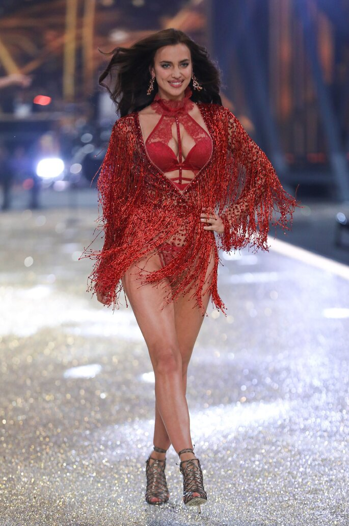 Irina Shayk, desfile Victoria's Secret 2016.