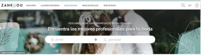 directorio de proveedores para bodas