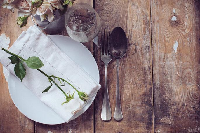 Decoración para mesa. Imagen vía: shutterstock