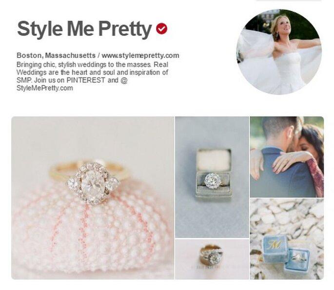 Style Me Pretty. Foto: Pinterest