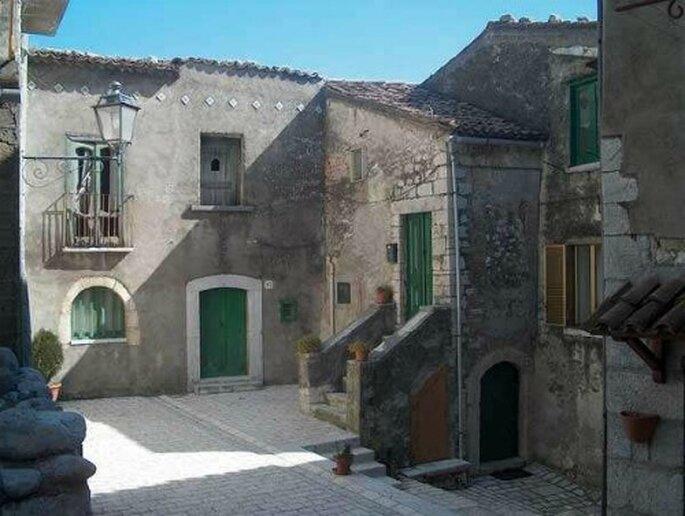 Uno scorcio del borgo di Cusano Mutri (BN). Foto: www.borghitalia.it
