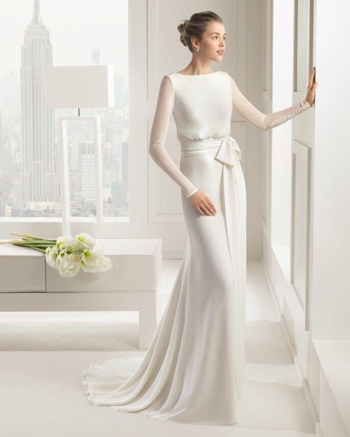 12 самых модных свадебных платьев 2015 года - Rosa Clará