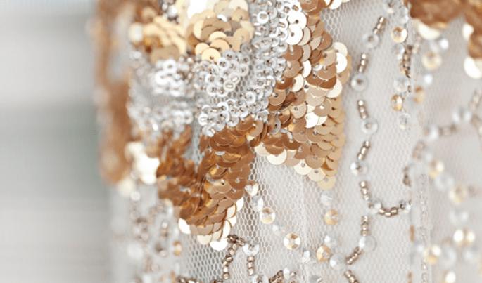 Colores y texturas para una boda vintage - Foto Glass Jar Photography