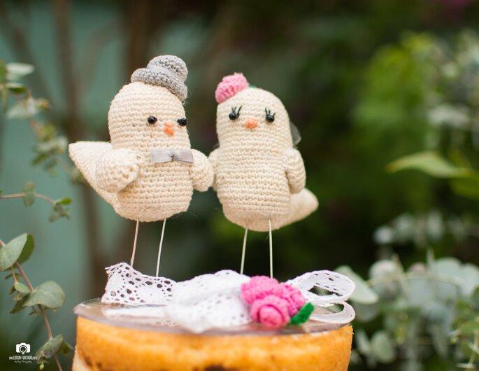Topo de bolo: Mãe da noiva - Foto: Edson Furtado Fotografia