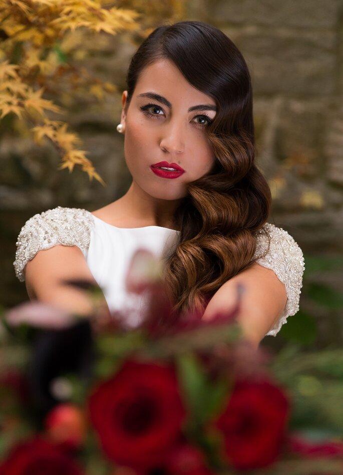 Maquillaje Karlota. Foto Diego Egusfoto