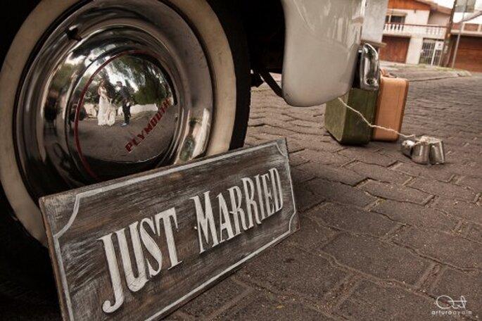 Elige la fotografía artística para darle un detalle único a tu boda - Foto Arturo Ayala