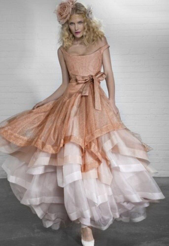 vestidos de novia originales de vivienne westwood, colección 2012