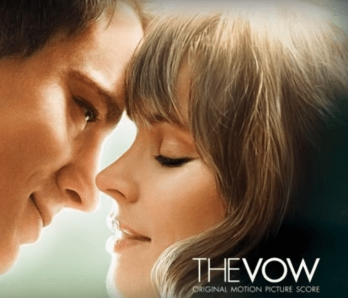 amour cinéma films romantiques je te promets The vow