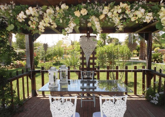 decoração cerimônia casamento
