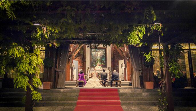 finca de bodas Madrid, boda religiosa
