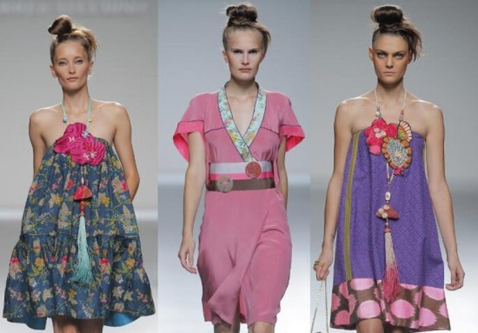 Desfile Mercedes Benz fashion week Madrid  2012. Foto de Image Net.