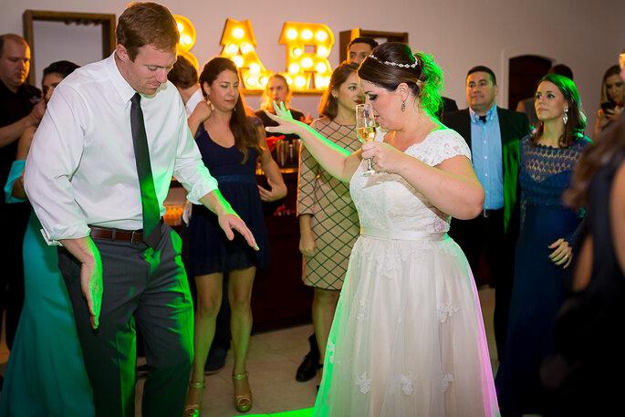 diversão festa de casamento