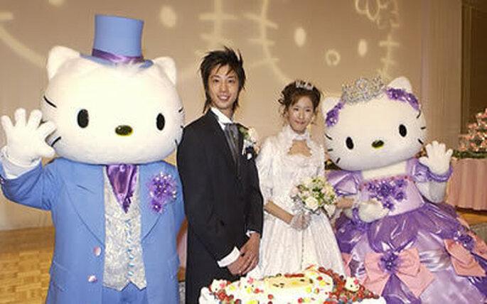 Collection de robes de mariée Hello Kitty 2009