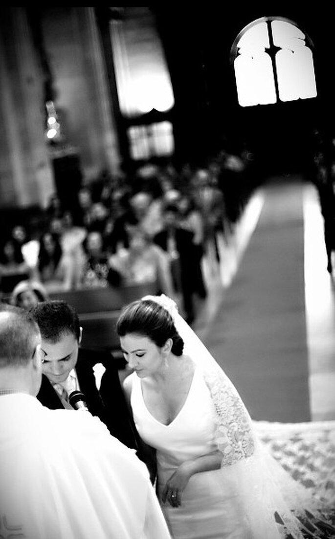 Gli sposi pronunciano le formule rituali