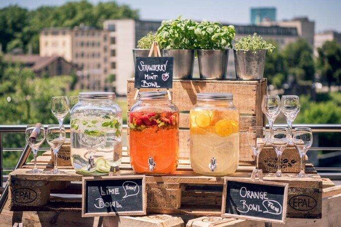 Zürich Marriott Hotel Summer Drink Bar