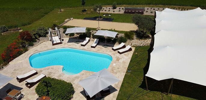 Domaine de Pradaous - lieu de réception - les Alpes-de-Hautes-Provences