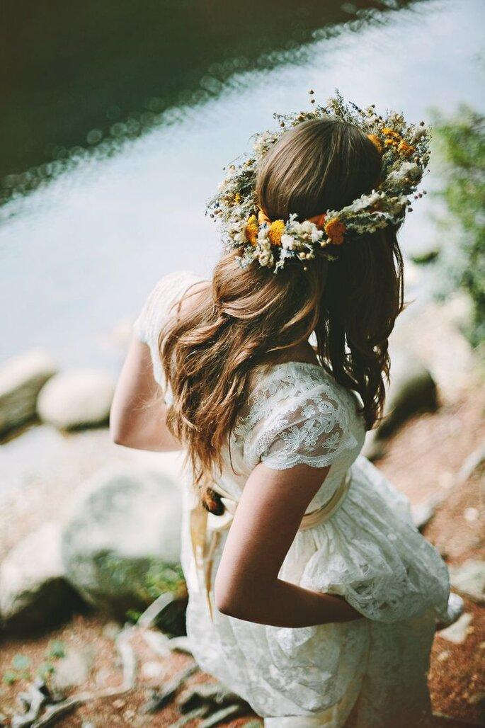 Peinados con flores para primavera - Pat Furey Photography