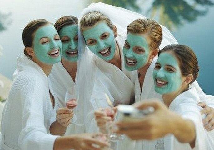 Día de spa con tus mejores amigas, madrinas o damas de honor