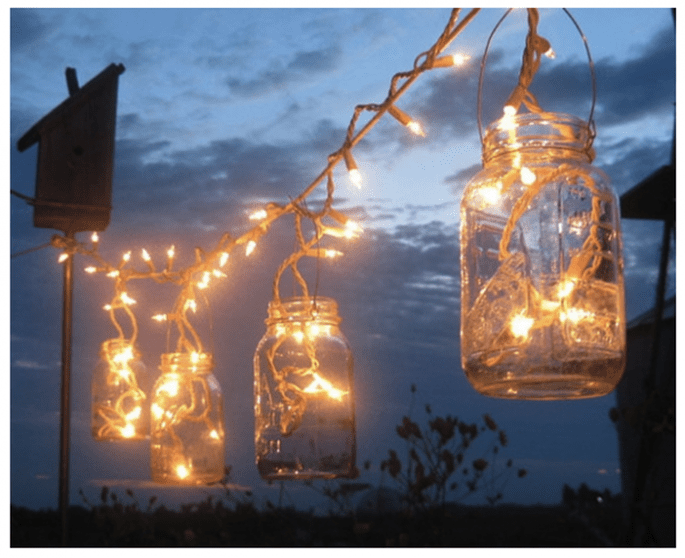 Tendencias en iluminación para bodas - Foto Treasureagain