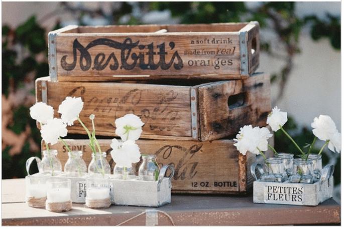 Incroyables idées déco pour un mariage vintage super trendy - Photo Matthew Morgan Photography