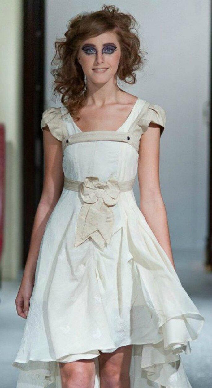 Robe de mariée asymétrique - Malam