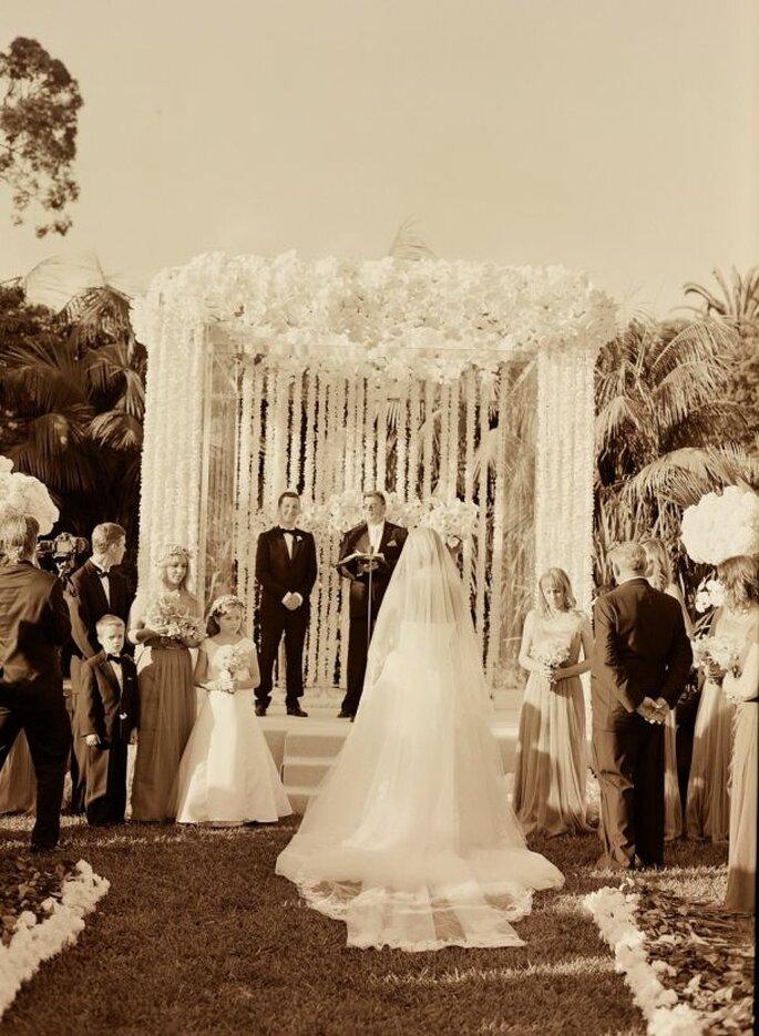 Los altares de boda más lindos para la ceremonia religiosa - Elizabeth Messina