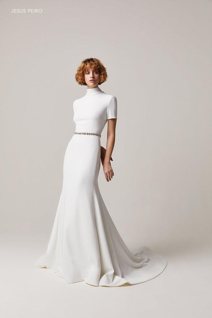 Robe de mariée 2021 minimaliste
