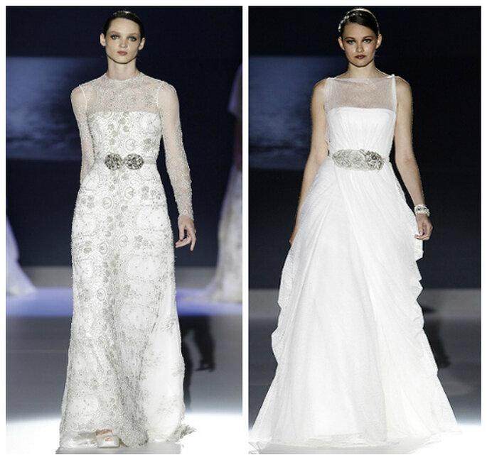kornkowe suknie ślubne