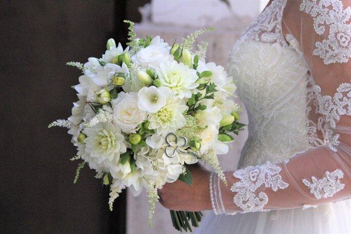 L'Asso dei Fiori - bouquet bianco