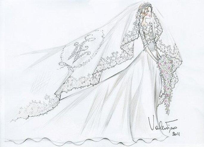 A proposta de Valetino para Kate Middleton