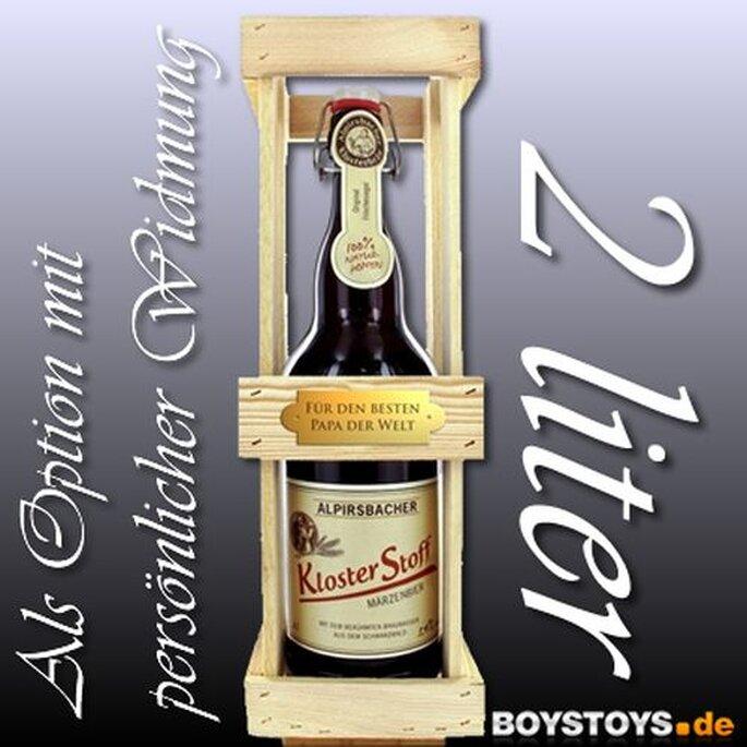 Gigantische Bierflasche