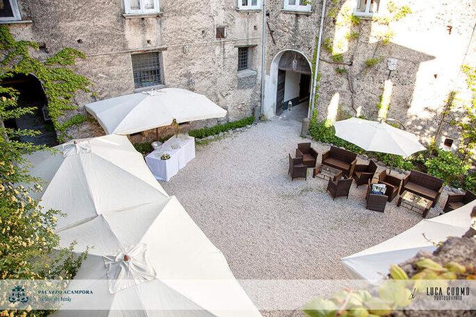 Palazzo Acampora - patio interno