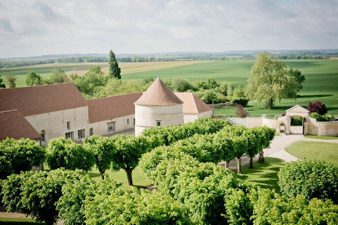 Château de Serans, lieu de réception dans le Val d'Oise