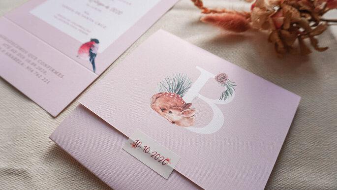 Convite por Bloem Design