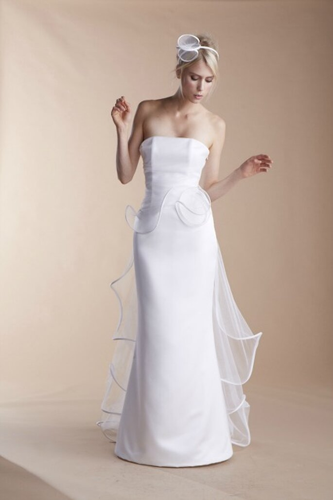 Robe de mariée Suzanne Ermann, modèle Narration - Photo : Suzanne Ermann