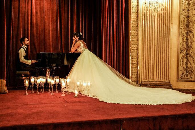 ensaio romantico noivos