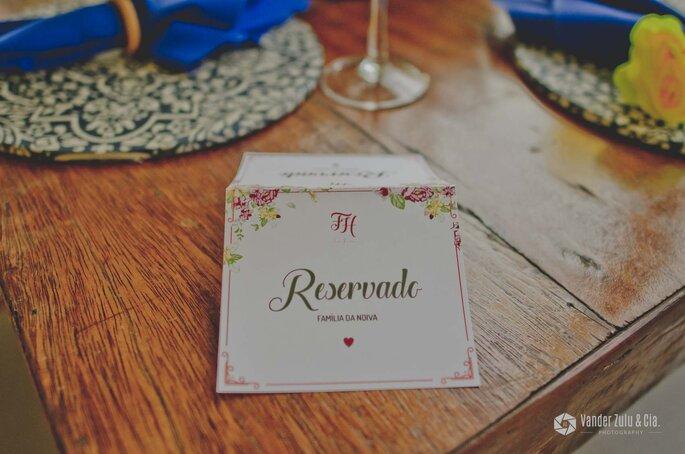 detalhe mesa casamento