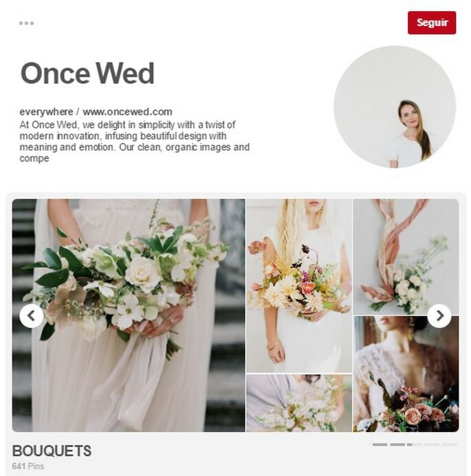 Once Wed. Foto: Pinterest