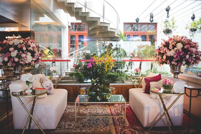 decoração casamento Clube Piraquê
