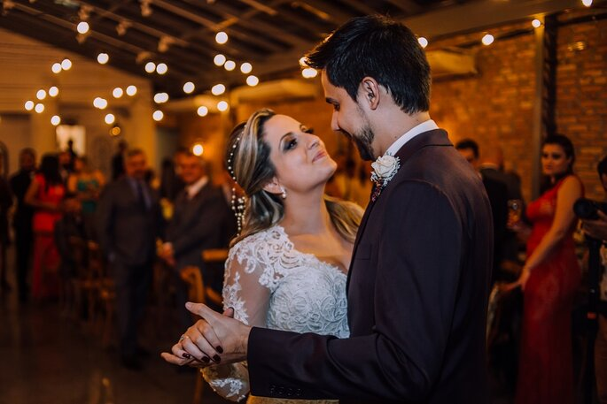 Primeira dança casal