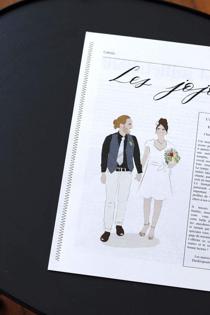 Scribeuse - Cadeaux invités mariage - Rhône