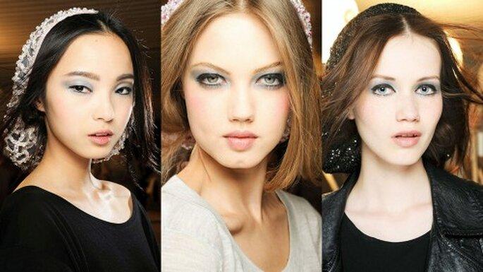 Peinados desfile Chanel Foto. Semana de la moda en París, Chanel Haute Couture 2012-2013