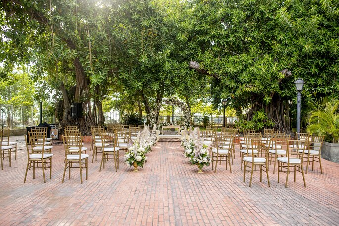Hotel Hilton Cartagena Jardín para boda Cartagena