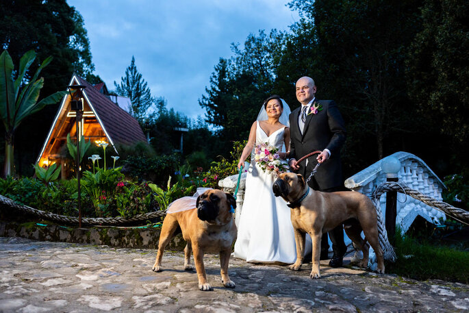 Hacienda Rincón de Teusacá boda con perros