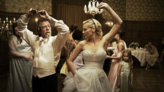 Kirsten Dunst in 'Melancholia' di Lars von Trier